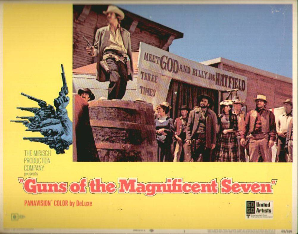 400027-westerns-guns-of-the-magnificent-seven-lobby-card